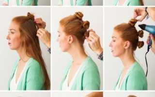 Легкие волны на волосах в домашних условиях. Как сделать пляжные волны на волосах
