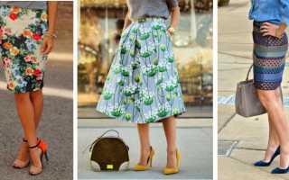 Декорирование юбки своими руками. Как украсить юбку не выходя из дома? Кожаная черная юбка