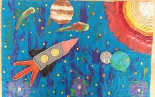 Детские поделки я рисую космос. Самые лучшие идеи поделок ко дню космонавтики. Панно из пластилина