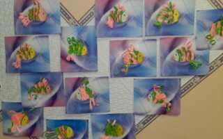 Трафарет рыбки для вырезания. Аппликация из цветной бумаги с помощью шаблона рыбка