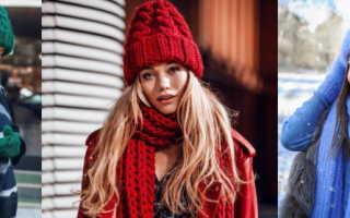 Модная вязаная шапочка для женщины. Модные тренды шапок для женщин в новом году