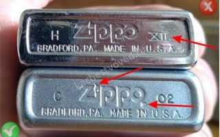 Как отличить оригинальную зажигалку Zippo от подделки. Оригинальные зажигалки Zippo