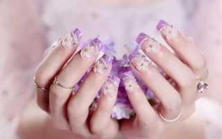 Как приклеить стразы на ногти в домашних условиях? Закрепляем стразы под гель лак