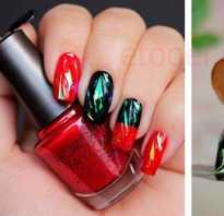 Как правильно сделать битое стекло на ногтях. Дизайн ногтей «Битое стекло» (50 фото)
