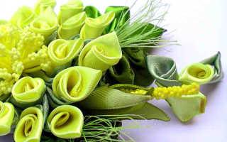 Как сшить цветы из лент. Цветы из атласных лент. Создание гиацинта в технике канзаши