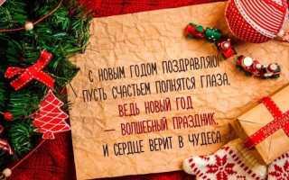Поздравление с новым годом своими словами. Поздравления с новым годом подруге