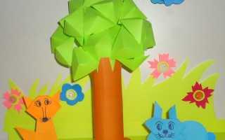 Мастер-класс «Дерево» из бумаги. Правила создания топиария: как сделать из бумаги красивое дерево