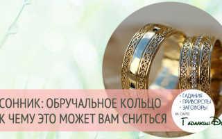 Чёрное кольцо на палец. К чему снится обручальное кольцо почернело, нужно ли беспокоиться
