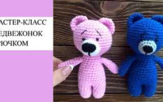 Пошаговая инструкция вязания игрушки мишки крючком. Вязаный мишка. Техника создания игрушки