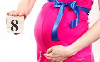 Беременных на 8 месяце. Возможные отклонения от нормы. О чем говорят выделения