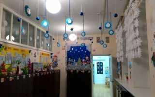 Новогоднее оформление группы в детском саду. Оформление группы в детском саду своими руками