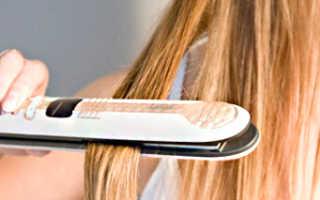 Как идеально выпрямить волосы утюжком в домашних условиях. Как выпрямить волосы с помощью плойки