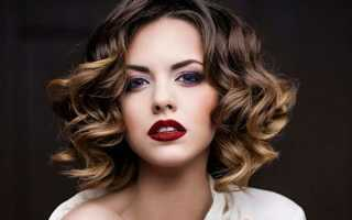 Как можно уложить волосы средней. Варианты красивых укладок на волосы средней длины
