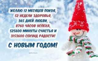 Пожелания на новый год в прозе. Поздравления в прозе — своими словами на новый год