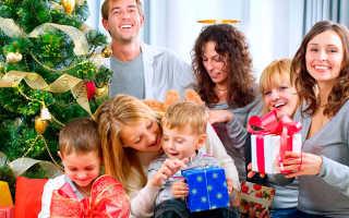 Новогодние подарки или что подарить семье? Что подарить на новый год молодой семье