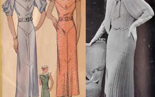 Платье в стиле 30 40 годов. Платья в стиле Чикаго: все новое – это хорошо забытое старое
