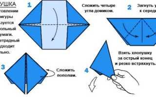 Как сделать из бумажного листа хлопушку. Как сделать хлопушку из бумаги — инструкция с фото