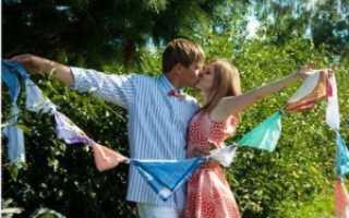 Сценарий для ситцевой свадьбы. Сценарий годовщины свадьбы, как отметить праздник