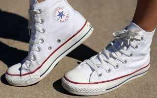 Как очистить белые кроссовки в домашних условиях? Как отбелить и постирать белые кеды