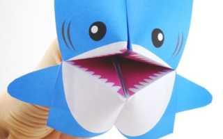 Как сделать из бумаги акулу открывает рот. Оригами акула из бумаги. Серая акула из бумаги