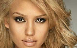 Кареглазые блондинки с черными бровями. В стиле Мэрилин. Самая известная блондинка