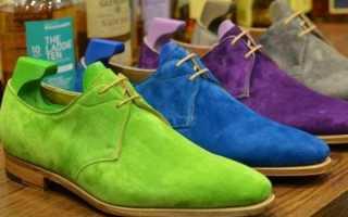 Как покрасить замшевую обувь: простые способы. Как выбрать краску для замшевой обуви
