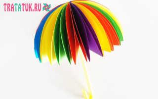 Как сделать зонтик из проволоки своими руками. Зонтик из бумаги. Самый удивительный и нежный букет