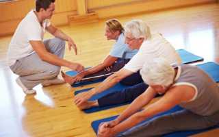 Лечебная физическая культура при ишемическом инсульте. Для улучшения координации. В положении стоя