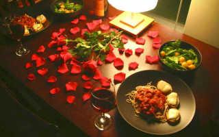 Как устроить романтик парню в домашних условиях. Как устроить девушке романтический вечер
