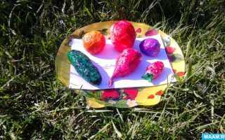 Поделка из овощей своими руками. Изготовление овощей и фруктов своими руками: мастер-класс