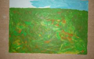Осень из пластилина. Пластилинография на тему Осень для детского сада. Мастер-класс с фото