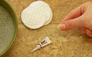 Супер клей попал на пальцы. Чем смыть супер клей с рук: пять эффективных средств