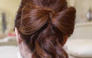 Золотые способы завязывания банта. Как сделать бант из волос: подробная инструкция с фото