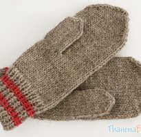 Вязаные рукавицы спицами. Как связать варежки: подробная инструкция с фотографиями