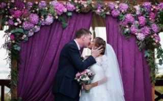 Сиреневая свадьба или свадьба в сиреневых тонах. Свадьба в фиолетовом цвете: что нужно знать