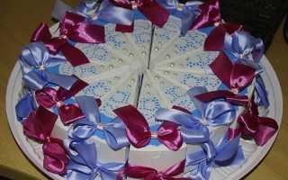 Как сделать оригинальный подарок на 8 марта. Браслет из ткани. Полезные конфеты из сухофруктов