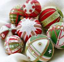 Елочные шары на новый год своими руками. Как сделать новогодние шары своими руками