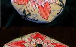 Схемы для бискорню крестом. Бискорню. Схемы для вышивки. Главные секреты мастерства