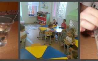 Опытно-экспериментальная деятельность. Картотека опытов и экспериментов для детей «опыты с водой