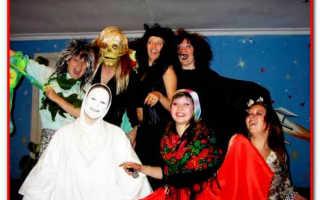 Тематическая вечеринка в стиле хэллоуин. Идеи для Хэллоуина: как устроить праздничную вечеринку