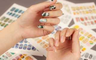 Как клеить слайдеры на ногти. Слайдер — дизайн. Удобные и модные украшения для ваших пальчиков