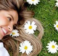 Ромашка для волос: свойства и применение. Ромашка лечебные свойства для волос