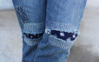 Как починить дырявые джинсы. Как правильно зашивать дырки на джинсах, описание различных способов