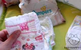 Сколько памперсов нужно в день новорожденному? Сколько памперсов в день уходит на новорожденного