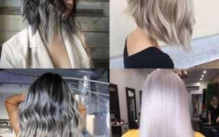 Пепельный цвет волос: фото лучших оттенков. Пепельно-черный цвет волос: фото примеры, как сделать