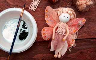 Сказочные куклы-феи своими руками. мастер класс. Фея из ниток Куклы феи своими руками из ткани