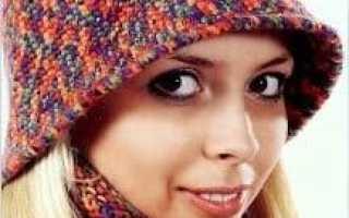 Вязанные шляпы на зиму. Схемы теплых женских шляпок крючком. Способы выполнения прибавок