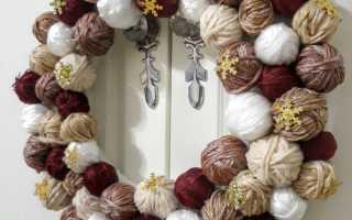 Весенние венки. Как сделать весенний веночек своими руками Весенний венок на дверь своими руками