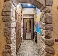 Отделка арки под камень. Отделка арки камнем: делаем межкомнатный проем эффектным