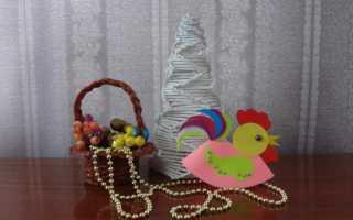 Маленькие новогодние петухи своими руками. Как сделать петушка из цветной бумаги